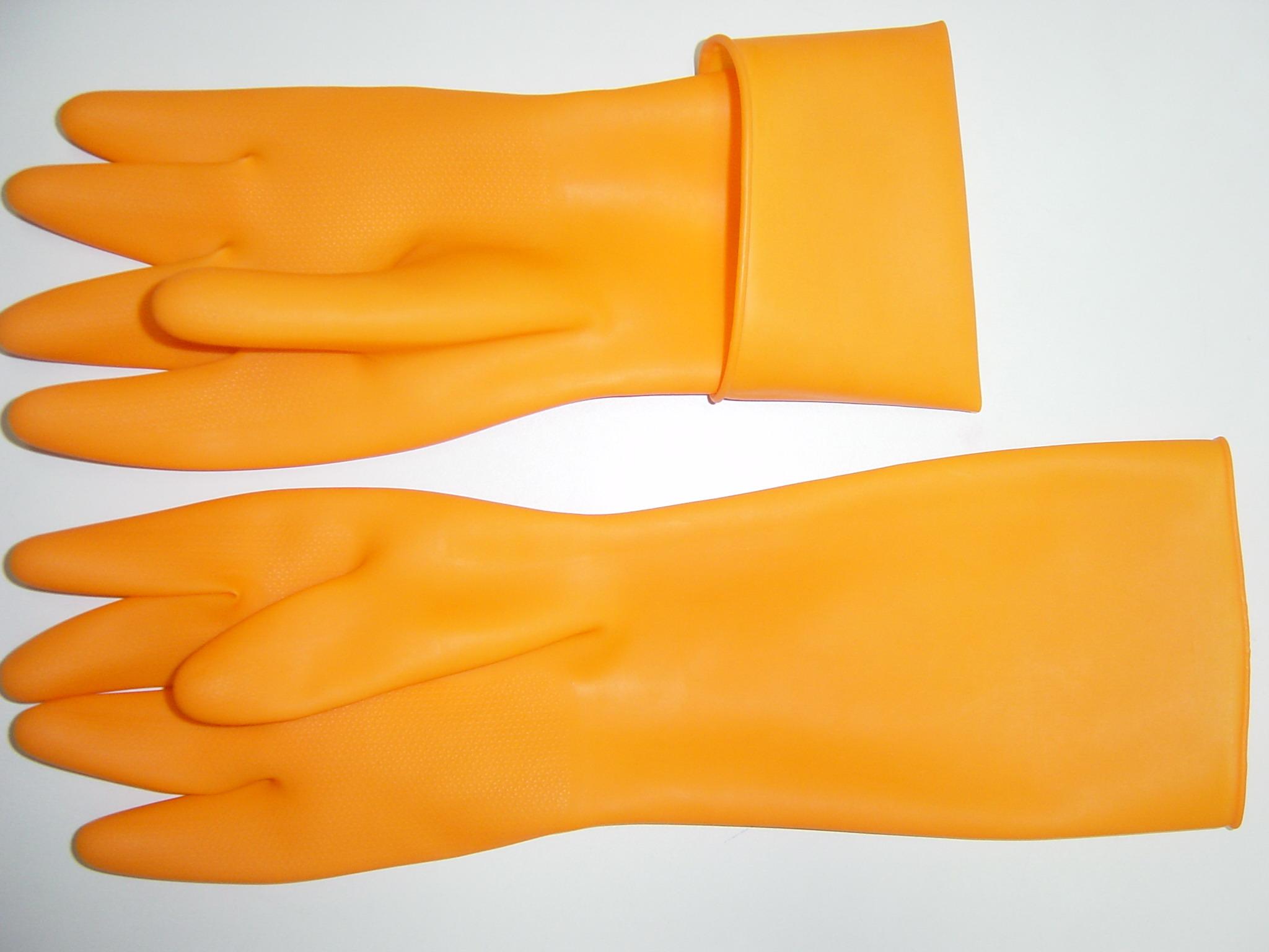 丁腈绒里家用手套