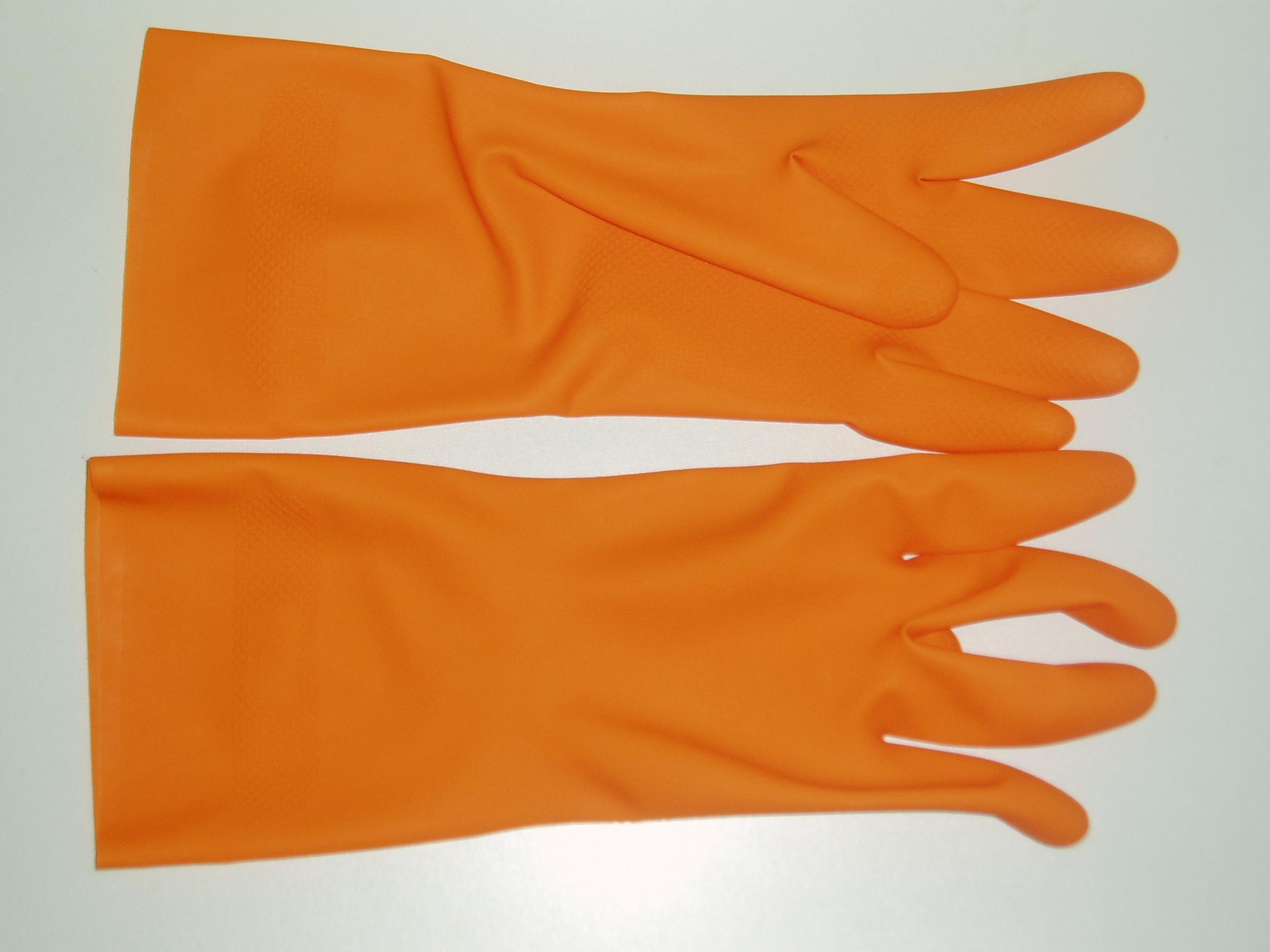 加长加厚乳胶家用手套
